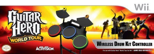 Guitar Hero World Tour - Stand Alone Drums - Nintendo Wii - http://astore.amazon.com/gamesandvideogames-20/detail/B001Q9XT34