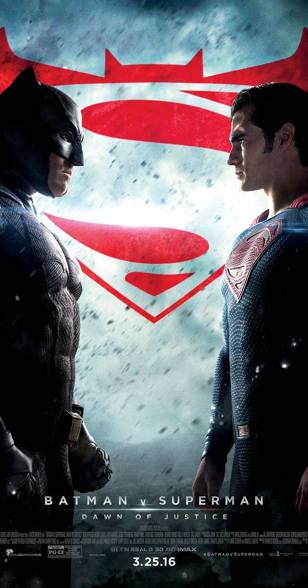 BATMAN VS SUPERMAN: DAWN OF JUSTICE. Mind-boggling, convoluted actioner that seems to have been written by picking ideas out of a hat. 1 star