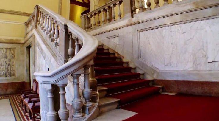 Saguão de entrada - Museu Nacional Belas Artes ❄️ RJ