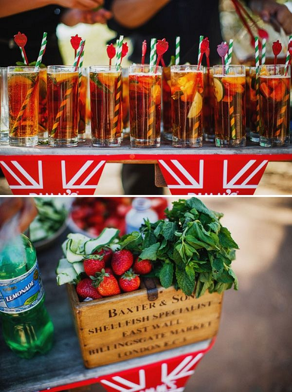 Pimms. BBQ must have.