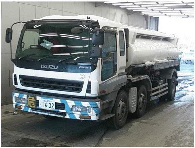 Isuzu Giga tanker 3-axels . Dużo zdjec
