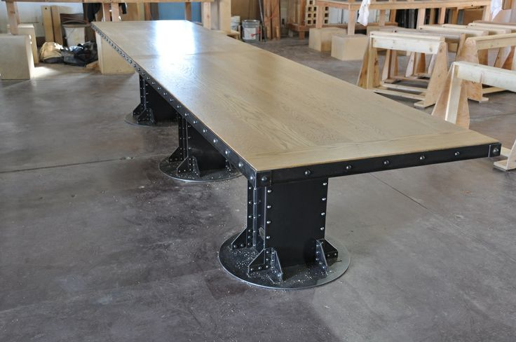 I Beam Conference Table Shops Vintage And I Beam