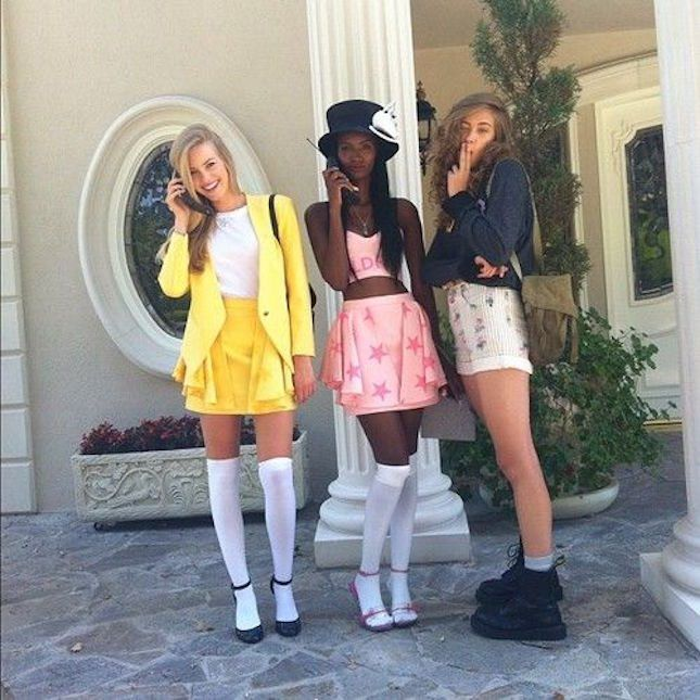 Obsessed with this Clueless Halloween group costume.