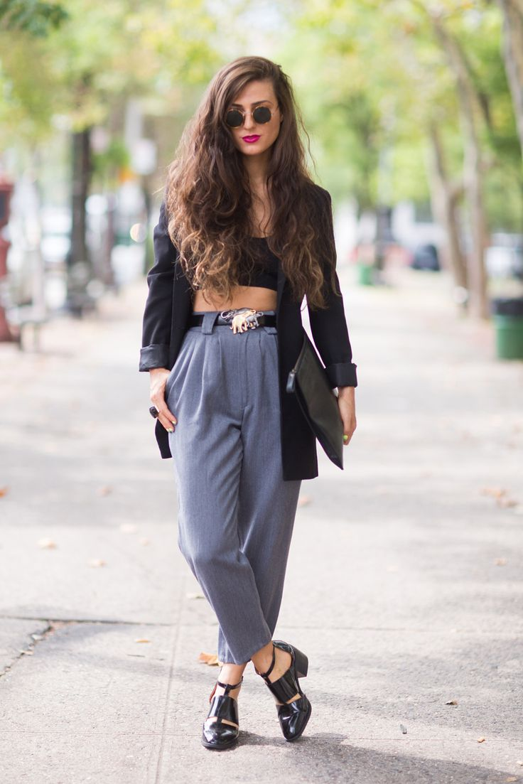 Style Stalking: Tracking The Tailored Look On The Streets #refinery29