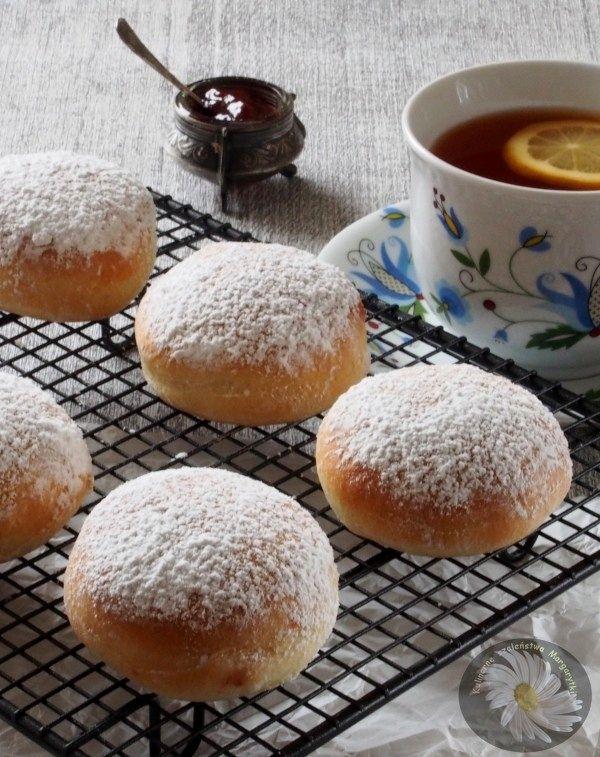 """Kulinarne Szaleństwa Margarytki: """"Pączki"""" z piekarnika"""