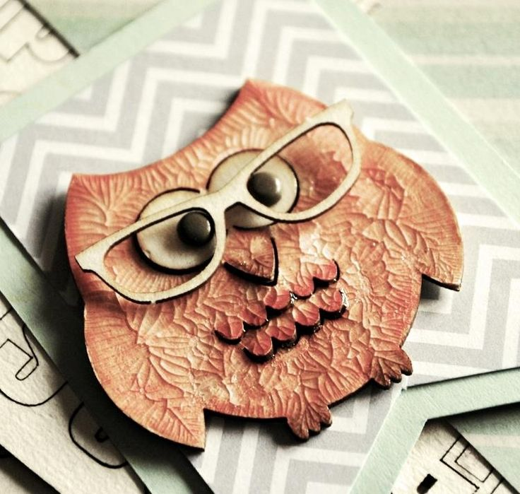 With Wycinanka's chipboard owl