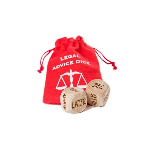 Legal Advice Dice - Quirky