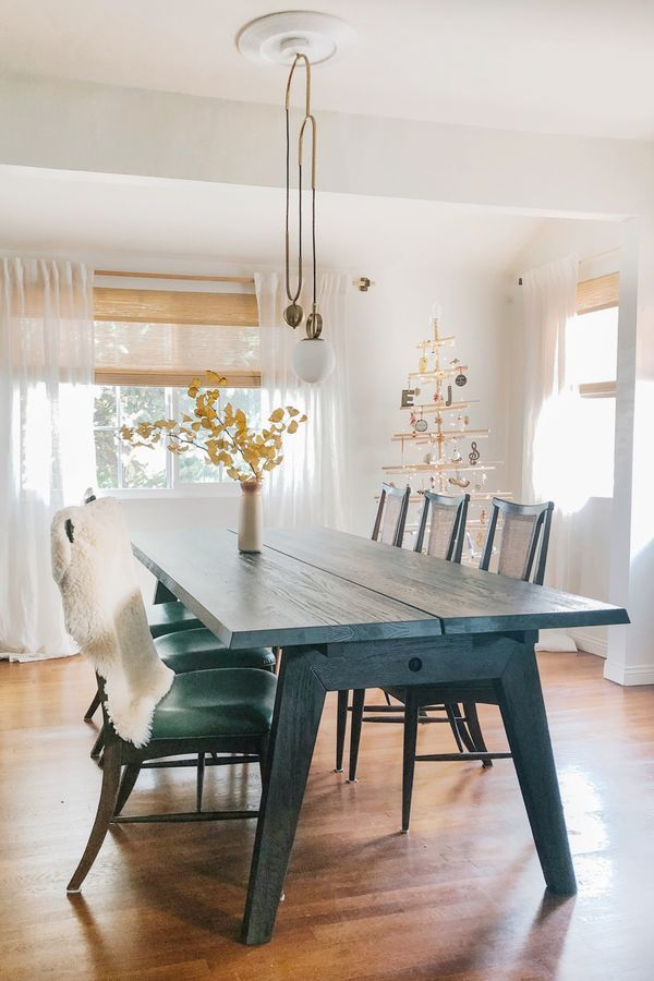 Madera Smoke Dining Table Extendable In 2020 Dining Room Windows Oak Dining Table Door Dining Table