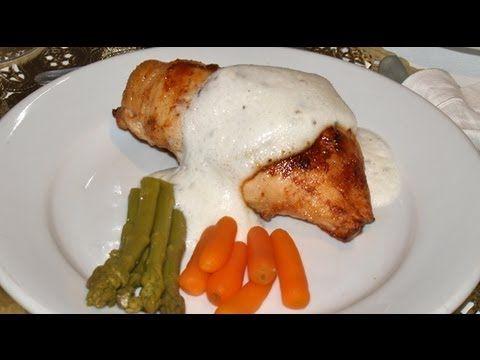 Pechuga de Pollo Rellena Dukan - Dukan Stuffed Chicken Breast - Receta Fase Ataque