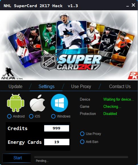 Add Unlimited Credits NHL SuperCard 2K17: All the latest and working updates provided by our coders. Full Add Unlimited Credits NHL SuperCard 2K17 2017 Download. Online Add Unlimited Credits NHL SuperCard 2K17 provider