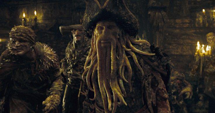 Davy Jone and crew from Pirates of the Caribbean - terrific CGI