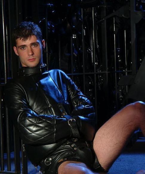 Leather Straight Jacket | leather uniform | Pinterest | Straight ...