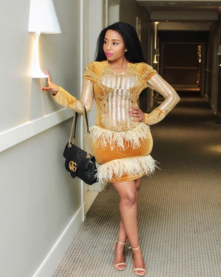 Serving some Friday Night Slay✨,dressed by @materialgirlzbotswana