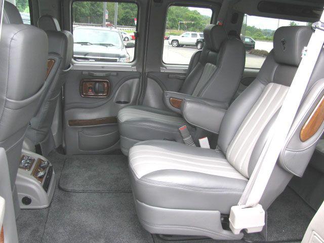Quad Bucket Leather Seats Very Comfortable Conversion Van2013