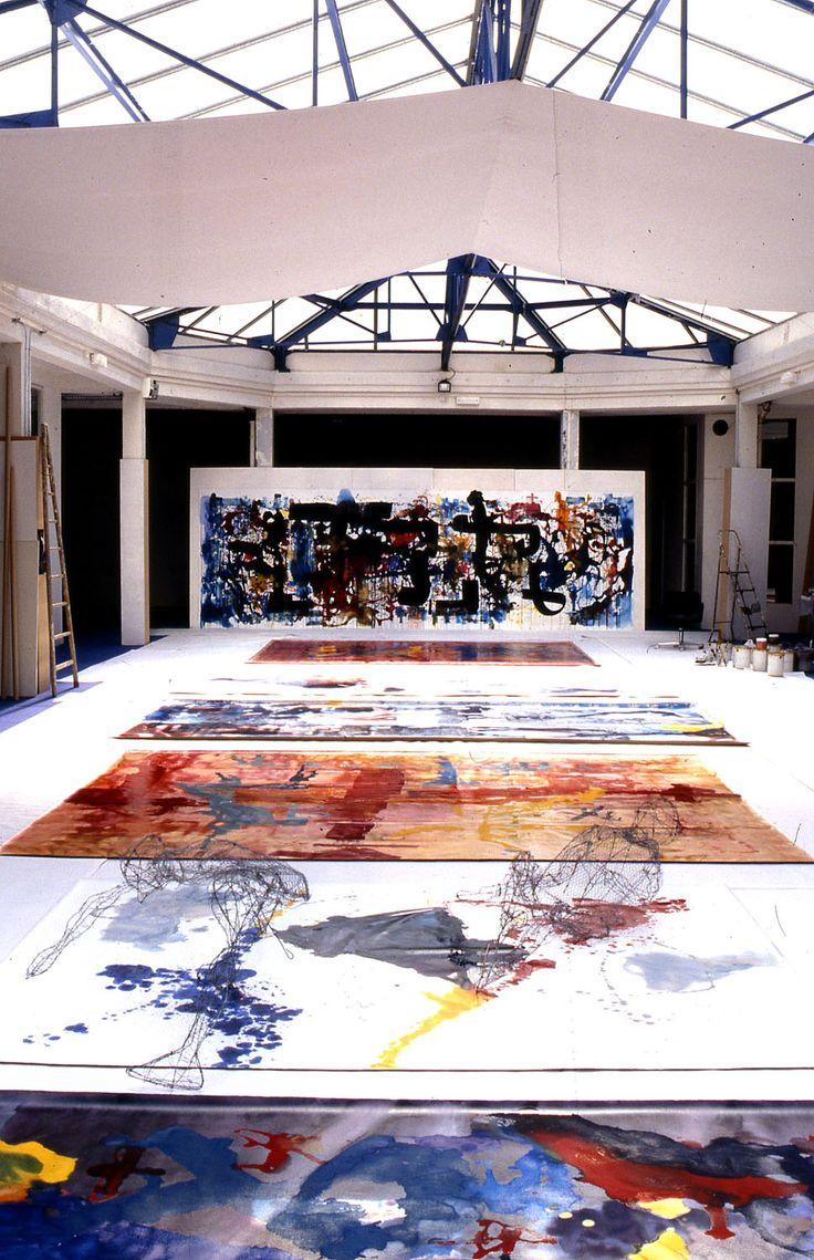 Stefan Ramniceanu - 1997 | View of the artist's studio in Paris