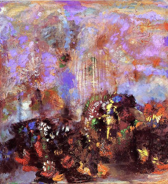Composition Flowers, Odilon Redon, undated