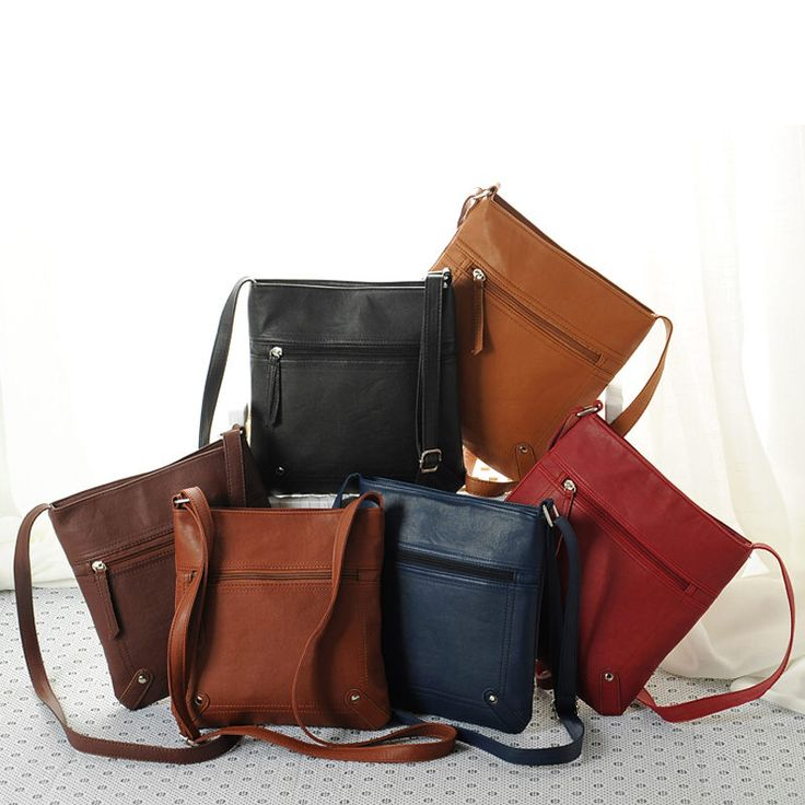 Casual PU Leather New Shoulder Bag Fashion Womens Crossbody Messenger Sling Bag