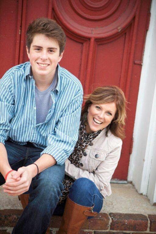 Mother Son photo idea