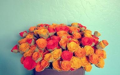 Nicole Franke. Martha Stewart Presents American Made.Colors Combinations, Bouquets Felt, American Made, Felt Roses, Fresh Flower, Felt Flower, Fall Flower, 100 Felt, Diy