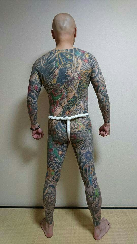 Yakuza Full Body Tattoo 90 best images about Y...