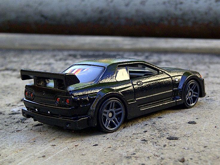 Custom Hot Wheels Nissan Skyline R32 GT-R Black. #hotwheels #diecast #jdm #gtr #car