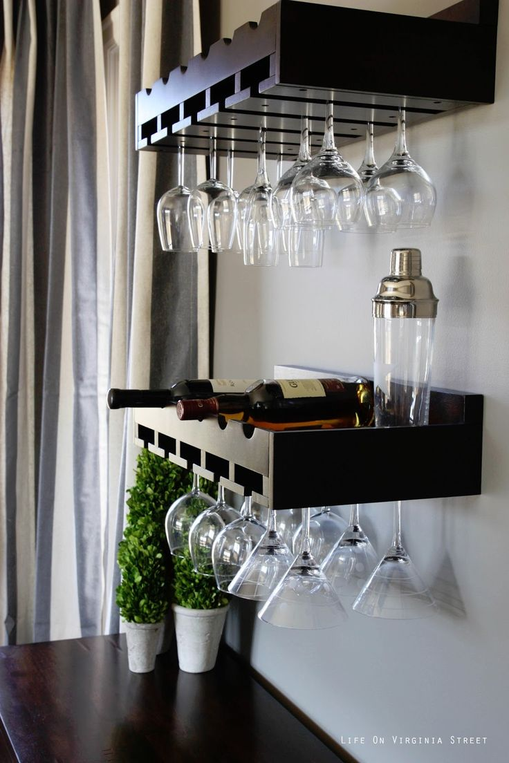 17 Best Images About Wine Glass Storage On Pinterest