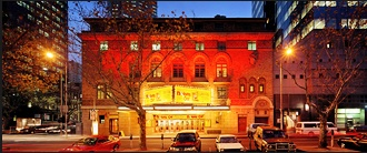 Comedy Theatre, Melbourne. Went to see the Rocky Horror Picture Show there when i was a kid. Ran into my paediatrician who was drinking a glowing martini and doing the timewarp. Couldn't look at him straight at the next appointment. But hey, I joined in too.