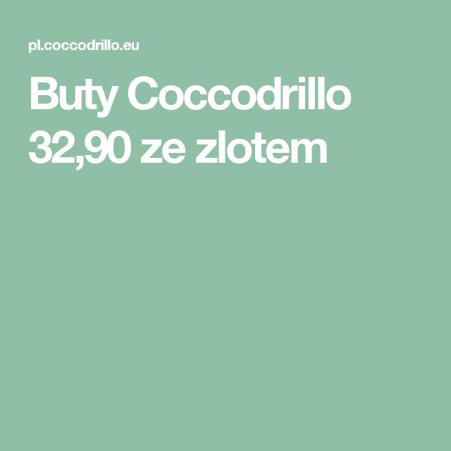 Buty Coccodrillo 32,90 ze zlotem