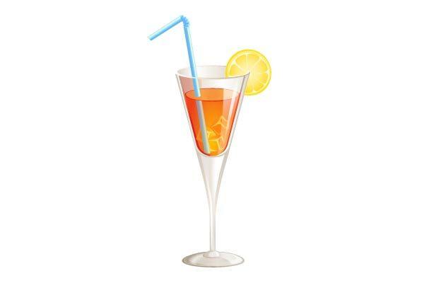 Orange on Rocks Cocktail Vector Image  #cocktail #vector #drink #party #orange http://www.vectorvice.com/cocktails-vector-pack