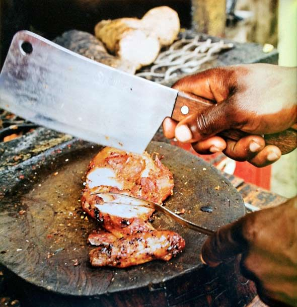 """Jerk Chicken, via Leite's Culinaria. """"For simplicity and authenticity, chicken marinated in jerk spices and cooked slow over a charcoal and wood fire can't be beat—though if you have a gas grill, never fear, it'll still be amazingly good."""""""