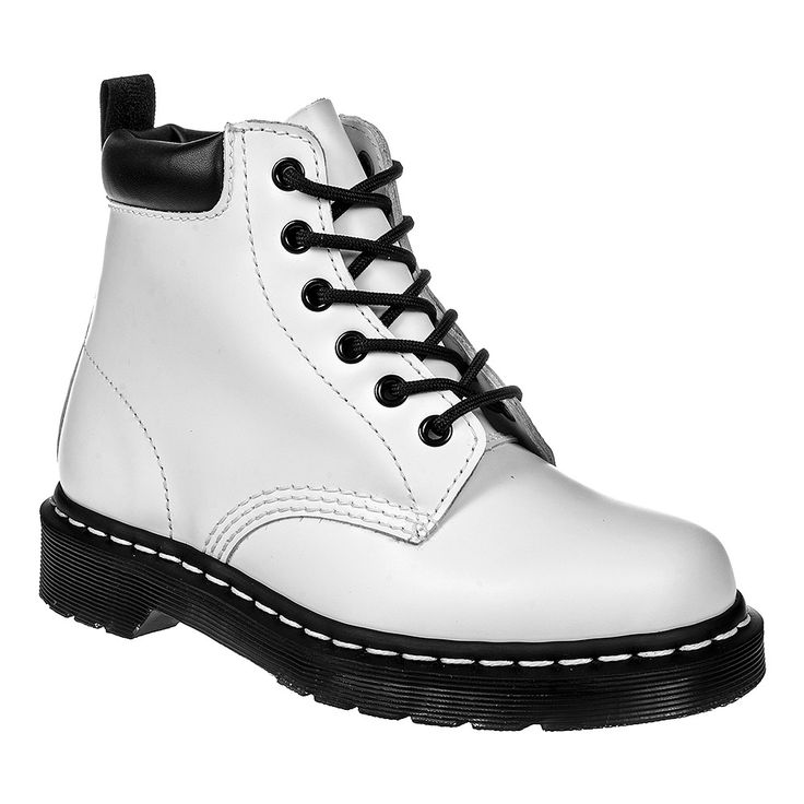 Dr Martens 939 Boots (White/Black)