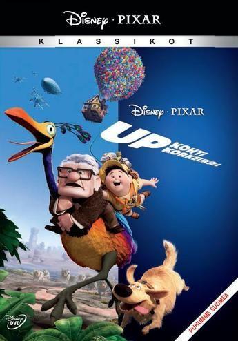 Pixar Klassikko 10: Up - kohti korkeuksia DVD 9,95€