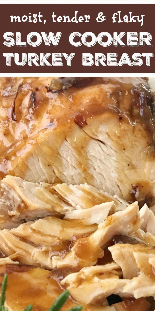 Crock Pot Cranberry Turkey Breast | Turkey Recipe | Thanksgiving Recipe | No nee…