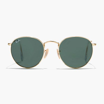 Ray-Ban retro round sunglasses are hot right now. Perfect for any festivals coming up this spring!