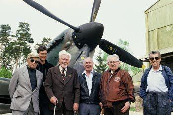 Tmavomodrý svět: Čeští veteráni bitvy o Anglii