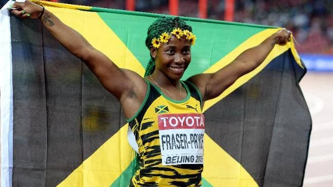 Shelly-Ann Fraser Pryce unbeatable in 10.76... wins 3rd world champs 100m gold - http://www.yardhype.com/shelly-ann-fraser-pryce-unbeatable-in-10-76-wins-3rd-world-champs-100m-gold/