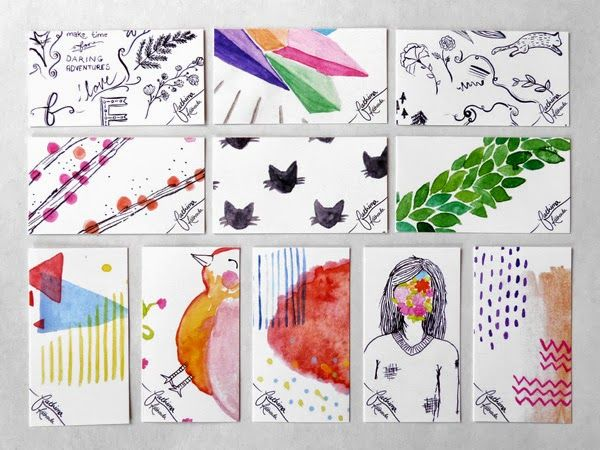 34 best images about illustration business card on Pinterest