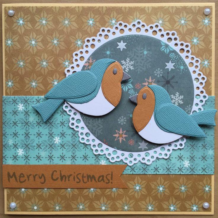 LindaCrea: Kerst 2015 - Eline's Birds (& aanwinsten creabeurs)