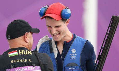 Peter Wilson, double-trap shooting GOLD medallist