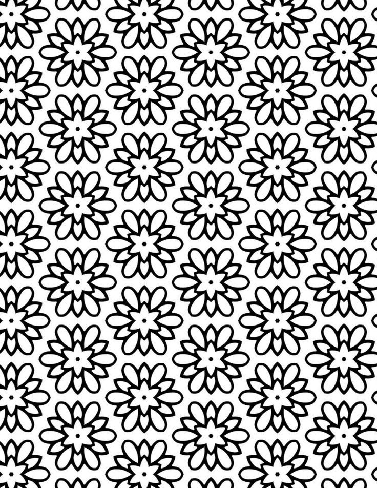 Coloring Sheet Of A Flower : 442 best coloring pages flowers images on pinterest