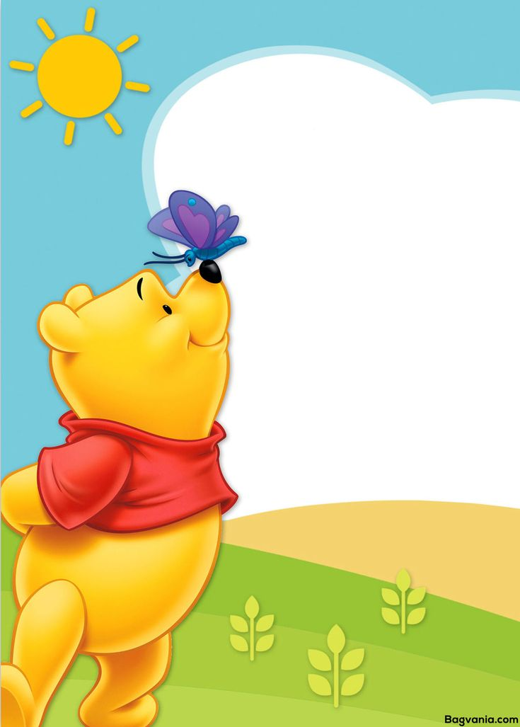 Awesome Free Printable Winnie The Pooh Birthday Invitation Wording