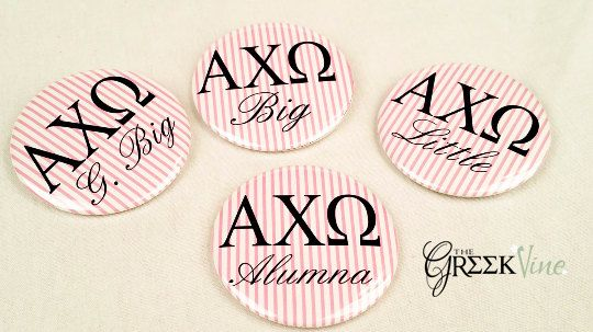Alpha Chi Omega OR your Letters Seersucker by TheGreekvine on Etsy