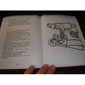 Slovak - Gypsy Bilingual Scripture Portions and Sunday School Activity book / Me Som Udut - Ja Som Svetlo / Sprievodne texty Svateho pisma k nahravke / Romcine    $19.99