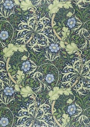 Seaweed wallpaper, by William Morris by deirdre