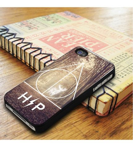 Harry Potter Hipster Deathly Hallows Expecto Patronum iPhone 5|iPhone 5S Case