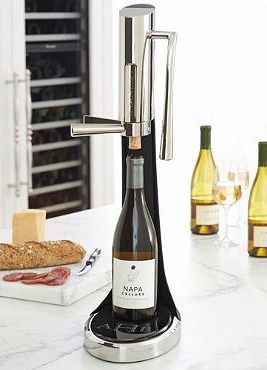 Entertain efficiently with the Prestige Wine Opener; a bar essential that opens every bottle in one smooth motion.