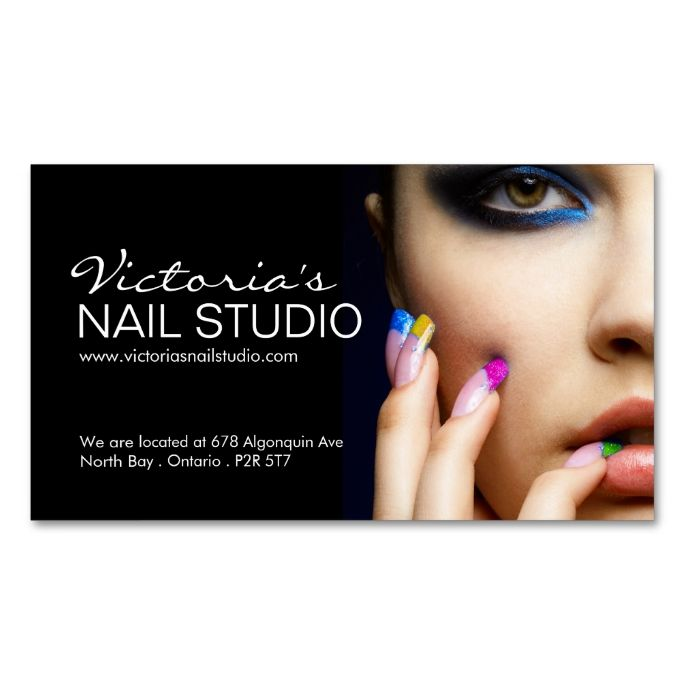 17 Best images about Nail Technician Business Cards on Pinterest ...