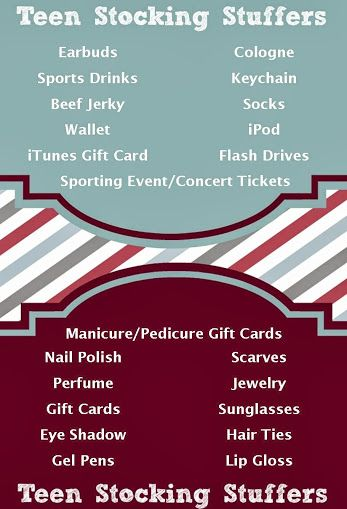 Stocking Stuffer Ideas for Teens (125+ Total Ideas for All Ages)