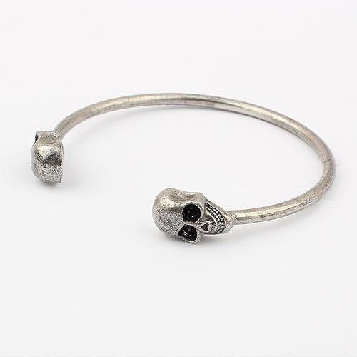 Armband - Döskallar (silver)