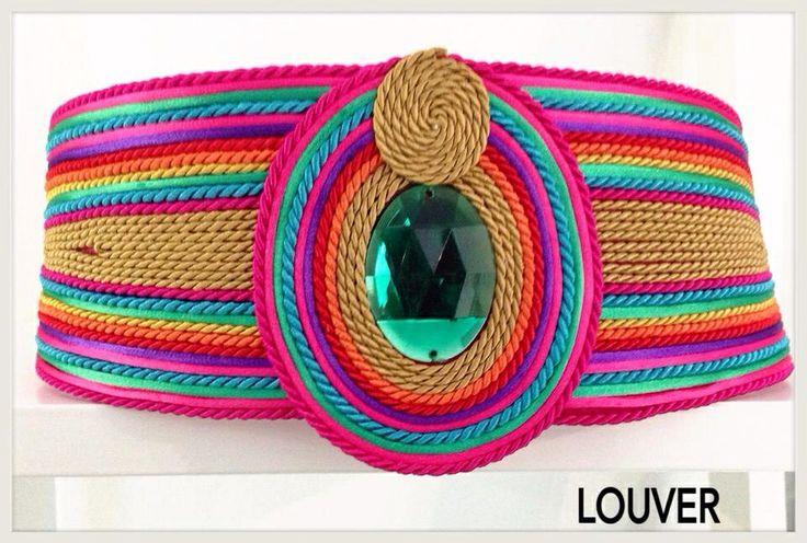#moda#fashion#louvermarbella#complementos#cinturon#multicolor#cordon